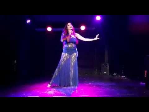 "Melina Moretti - Kawleeya en Dorian Teatro Bar ""Oriental Show"""