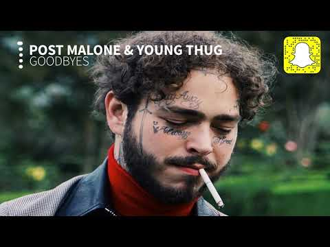 Post Malone - Goodbyes (Clean) ft. Young Thug