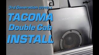 Toyota Tacoma | High Resolution Audio System Install