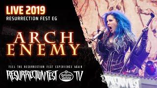 Arch Enemy - Live At Resurrection Fest EG 2019 (Viveiro, Spain) [Pro-shot, Full Show]