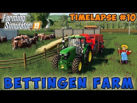 Grass Silage, Harvesting Barley   Farming On Oakfield Farm   Farming