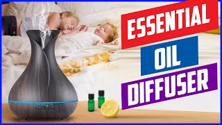 Top 5 Best essential oil diffuser for large spaces and rooms