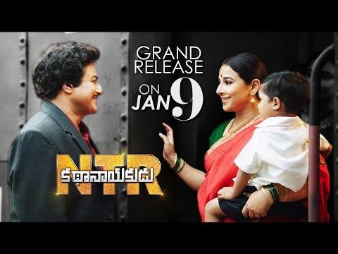 NTRKathanayakudu Grand Release On 9th January