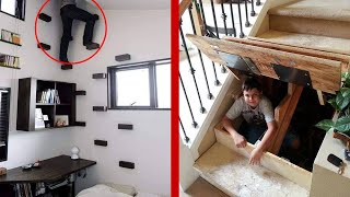 UNBELIEVABLE Secret Rooms With FUTURISTIC Furniture Innovations!