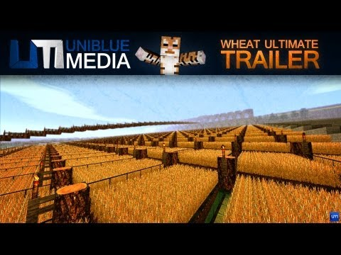 world record worlds biggest wheat farm wheat ultimate minecraft project