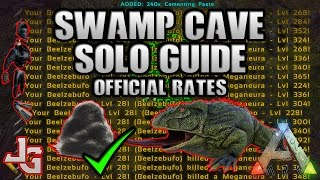 ARK - Swamp Cave Solo Guide 2017 - How And What Do You Need? Cementing Paste Farming