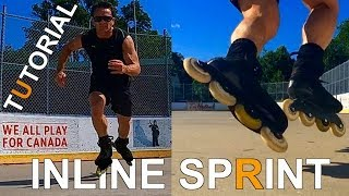 Inline Skating Sprint Tutorial  How To Get Faster!