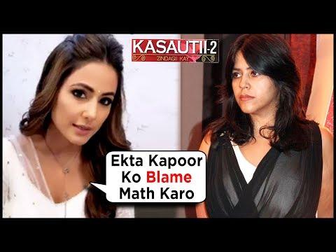 Hina Khan COMMENT On Ekta Kapoor's Kasauti Zindagi