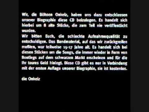 Böhse Onkelz - Idiot (Biographie CD)