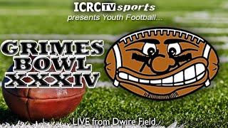 Mason Grimes Bowl XXXIV Saturday August 13th, 2016