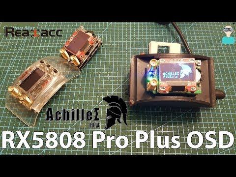 Realacc RX5808 Pro Plus OSD - Review & SBS Comparison