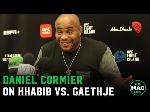 "Daniel Cormier breaks down Khabib vs. Gaethje; Tells Adesanya ""Paulo Costa's dead! Leave him alone!"""