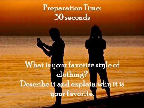 Impromptu Speaking Practice 1