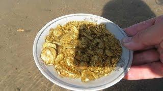 Золото, найдено на пляже! Соседи не могут поверить, это надо видеть