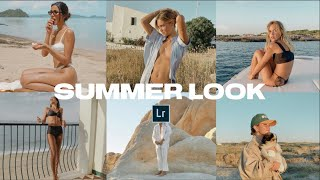 Create a SUMMER LOOK for your Instagram Feed + Lightroom Mobile Preset