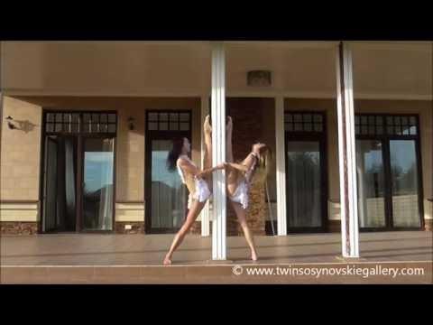 【衝撃流出】オリンピック体操ロシア代表選手の美少女姉妹。富裕層の秘密パーティーで全裸踊りをやらされてる… |