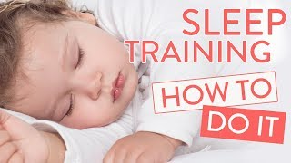How To Sleep Train Your Baby - Baby Sleep Course | Channel Mum