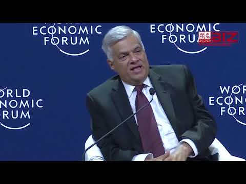 Sri Lanka PM Ranil 'Concerned on rebalancing of the Global Order' at World Economic Forum on ASEAN