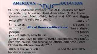 Online CPR | AHA Courses | ACLS Renewal | BLS | ACLS | PALS | Heartsaver first aid | ACLS Renewal