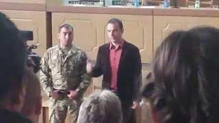 Зустріч з виборцями 06.10.14 та трохи історії б-н Донбасс