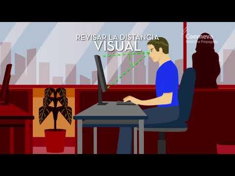 Espalda recta cuando trabajas frente al computador - Cuidarte es Quererte