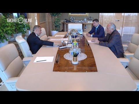 Президент РТ встретился с миллиардером Василием Анисимовым