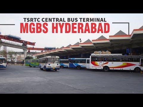 India's Number One Bus Terminal, MGBS, Hyderabad, Telangana    TSRTC