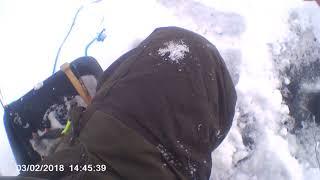 Рыбалка на онего зимой
