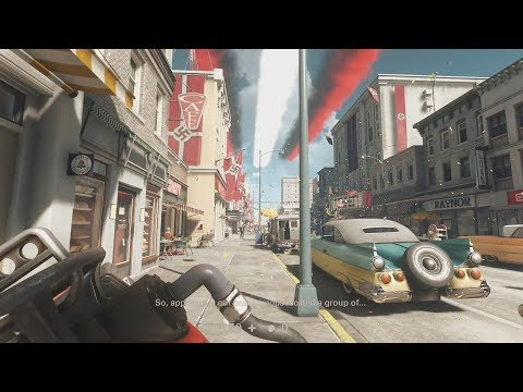 Wolfenstein II: The New Colossus - Roswell Mission Gameplay (1080p 60fps)