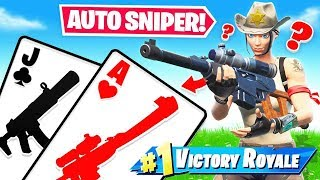 CAN I get an AUTO SNIPER? *21* Blackjack for LOOT? (Fortnite)