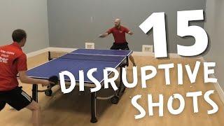 Craig Bryant's Top 15 Disruptive Table Tennis Shots