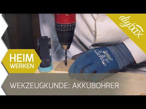 Werkzeugkunde: Der Akkubohrer
