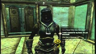 The Elder Scrolls V: Skyrim - How To Gather Building Materials (with Commentary)