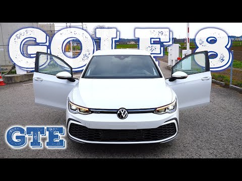 New Volkswagen Golf 8 GTE 2021
