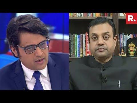 Arnab Goswami and Sambit Patra Debate