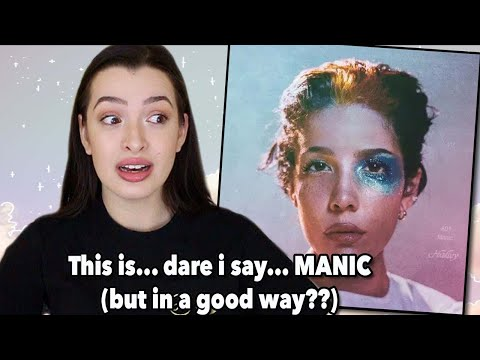 Manic ~ Halsey/Ashley Album Reaction (more though... ouch)