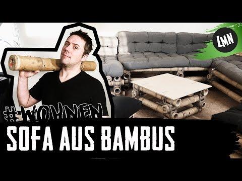 Bambussofa: Sitzecke aus Bambus selber bauen - Lass ma' nachhaltig #wohnen