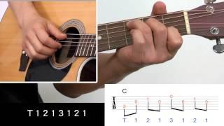 吉他入門免費教學8 : 右手指法 T1213121
