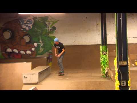 Nate Krzan at Underwood Skatepark