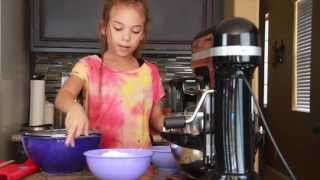 Chocolate Cake from Scratch | Hunter in the Kitchen Recipe #3 kids baking