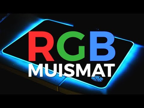 GOEDKOOP RGB MUISMAT! - Cooler Master RGB Hard Gaming Mousepad - Review - TechTime