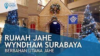 Rumah Jahe Wyndham Surabaya, Desain Rumah dengan Bahan Utama Jahe
