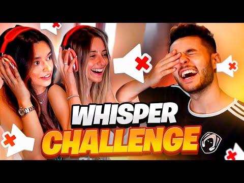 WHISPER CHALLENGE con Marta y Gemita
