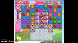 Candy Crush Level 2474 help w/audio tips, hints, tricks.