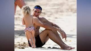 Wladimir Klitschko and Hayden Panettiere sun themselves in Barbados as retired heavyweight