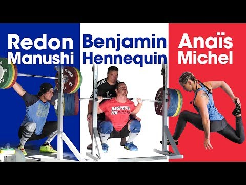 French Team 🇫🇷 Benjamin Hennequin, Anaïs Michel, Redon Manushi Powercamp Training Session