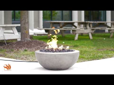 Moderno II Gas Fire Bowl by Prism Hardscapes