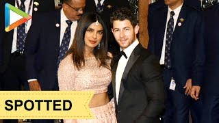 Newly Weds Priyanka Chopra & Nick Jonas grace Isha Ambani & Anand Piramal's Wedding