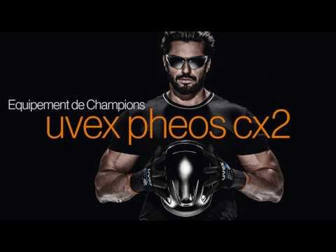 Equipement de Champions, la nouvelle lunette de protection uvex pheos cx2