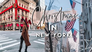 Christmas 2019 in New York   Shopping On 5th Avenue, A Proposal & What I Ate!